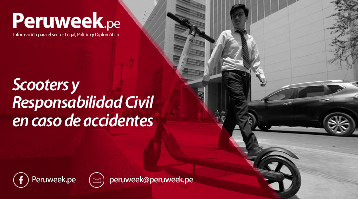 Scooters y Responsabilidad Civil en caso de accidentes