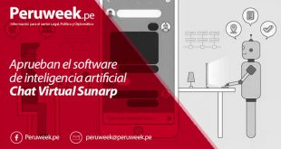 Aprueban el software de inteligencia artificial Chat Virtual Sunarp