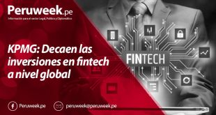KPMG: Decaen las inversiones en fintech a nivel global