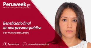 Beneficiario final de una persona jurídica